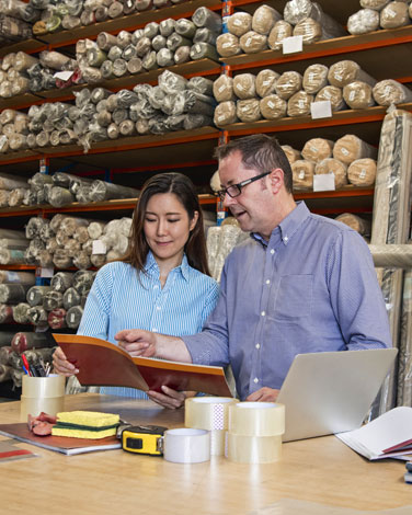 Risk management for distribution businesses